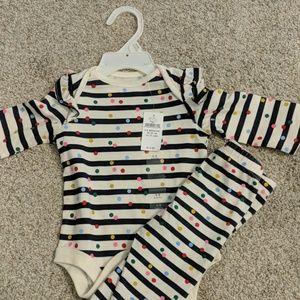 Baby Gap onesie and pants set